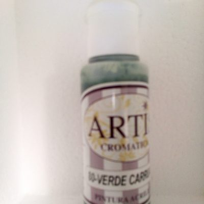 pintura artis 30-verde carruaje