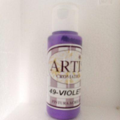 pintura artis 49-violeta