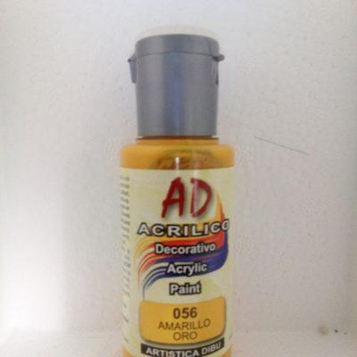 pintura  AD-056-amarillo oro
